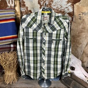 Vintage JNCO Men's Button Down Shirt Size S